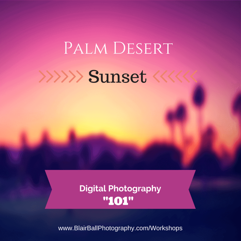 Digital Photography 101_Blair Ball Photography Palm Desert Image