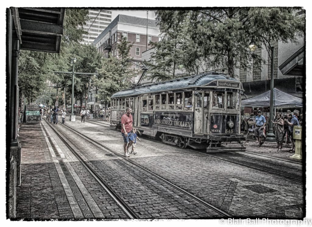 Memphis Trolley Downton Photo