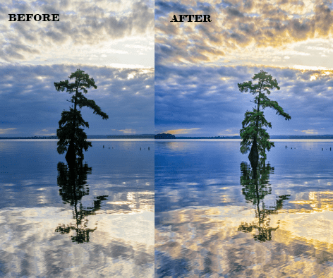 Lightroom Before & After Images Blair Ball