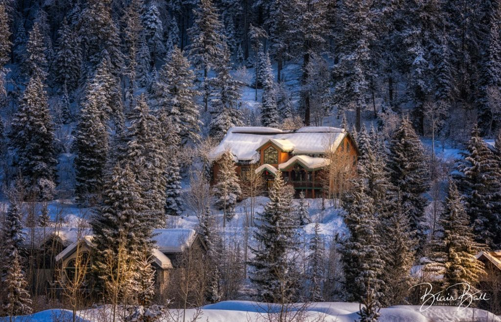Steamboat Springs Cabin in the Mountains_©Blair Ball Photography